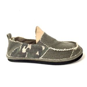 OP OceanPacific Slip on boat deck loafers camo 8